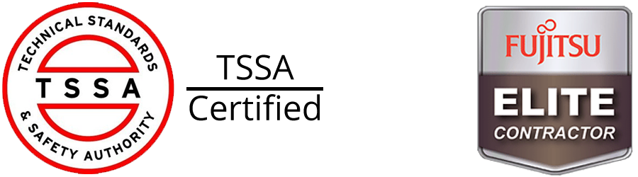 AllTECH Climate is TSSA Certified and a Fujitsu Elite Contractor